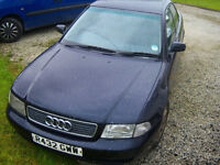 Audi A4 tdi spare parts. Mostly mechanical Engine, Gearbox, lights, abs pump etc........
