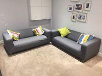 IKEA 2 Seat Sofa - KLIPPEN x 2