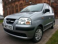★ 13 MONTHS MOT ★ ONLY 41,000 MLS ★ SHOWROOM CAR ★ F S H★ 2007 HYUNDAI AMICA 1.1 GSI 5dr.like fiesta