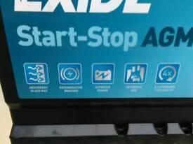 Brand new exide ek700 agm stop start battery