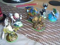 skylanders £2-£3 each or £12.50 the lot smoke and pet free home collection from didcot