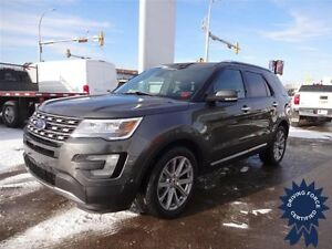 2016 Ford Explorer Limited 4x4 - 29,202 KMs, 7 Passenger SUV