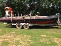 Humber 8.5 meter Rescue Rib