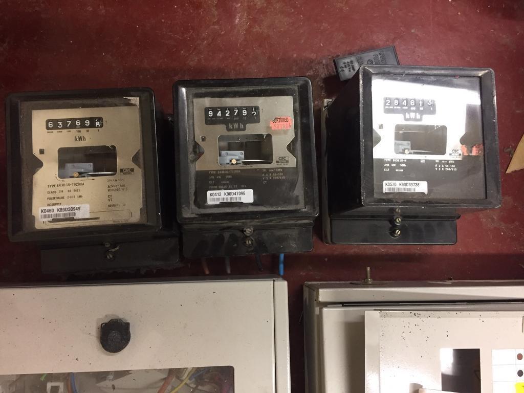 Three phase meter and consumer unit | in Blackburn, Lancashire | Gumtree