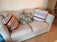 2 Seat Sofa - Well looked after, Comfortable and Neutral Colour