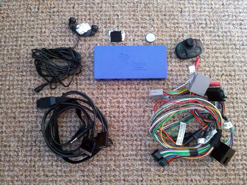 Parrot Mki9000 Handsfree Bluetooth Kit Aux Usb Ipod Iphone In Mercedes Uhi Wiring