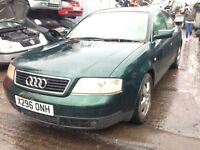 2001 Audi A6 2.7 T quattro auto 227 green AJK LZ6H FAW BREAKING FOR SPARES