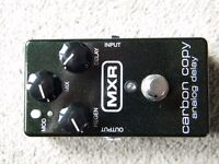 MXR M169 Carbon Copy Analog Display Guitar Pedal - Immaculate condition