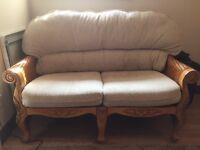 Cream conservatory furniture set