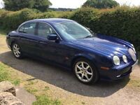 JAGUAR S TYPE YEAR 2002 , 3.0LTR. AUTO IN REALLY SUPERB CONDITION BOTH INSIDE & OUT