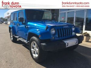 2014 Jeep Wrangler Unlimited 4WD 4dr Sahara