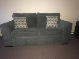 Tesco Boston 2.5 seater grey sofa