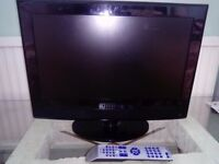 "16"" screen kenmark freeview digital tv. Excellent condition and quality. With remote."