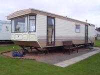 CARAVAN FOR HIRE,RED LION CARAVAN PARK,ARBROATH,2 BEDROOMS,SEA VIEWS,FULLY EQUIPPED ,HAVE A LOOK
