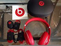 Beats Dr. Dre Studio V2 Noice Cancelling Headphones £100 - RRP £249.99 As New