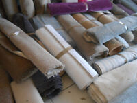 CARPET ROLL ENDS AVAILABLE FROM £5