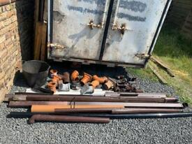 Drainage Pipe, Fittings and Guttering