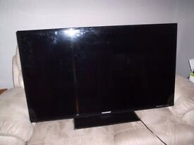 a fifty inch blaupunkt television
