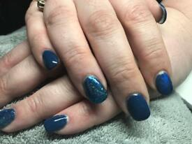 Nails: CND Shellac and acrylic nail enhancements