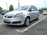 2007 VAUXHALL ZAFIRA 1.8 DESIGN MANUAL PETROL . 7 Seater MPV