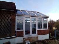 Conservatory 4m x 4m £1500 Goffs Oak, Hertfordshire.