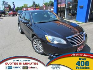 2012 Chrysler 200 TOURING | V6 | SUNROOF | BLUETOOTH