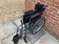 hardly used wheelchair and walker