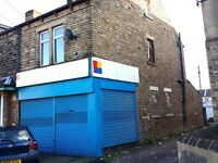 LARGE SHOP / OFFICE UNIT FOR RENT TO LET IN BRADFORD THORNBURY AVENUE BD3 NEAR LEEDS OLD ROAD
