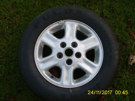 Freelander 15 inch; wheel and budget tyre in good condition ideal as a spare - can deliver