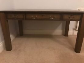 Large wooden desk/table with drawers - LOOKING FOR QUICK SALE -