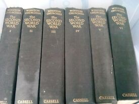 Churchill's 6 columns history of world war two