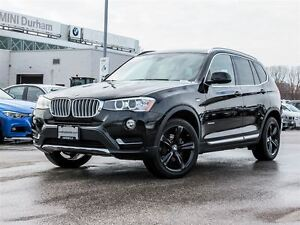 2017 BMW X3 xDrive28i BMW Corporate Employee Leased Unit
