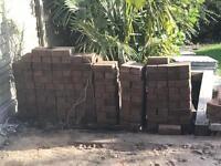 Block paving 150 blocks