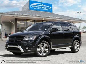 2016 Dodge Journey Crossroad loaded Leather Sunroof Navi 7 Rider