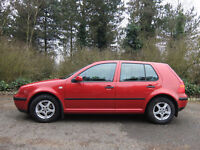 VW Golf, nice condition, great spec