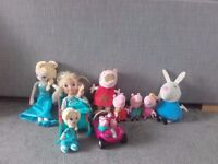 Frozen & Peppa Pig Toys