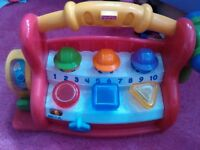 fisher price hammer & play