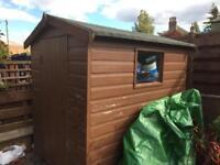 Garden Hut (Wooden). 7' x5'