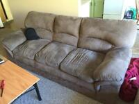 2 large comfortable couches