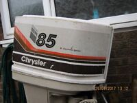 chrysler 85hp long shaft outboard engine