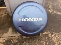 2003 Honda CRV spare wheel cover