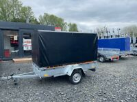 BRAND NEW 8.2 X 4.3 SINGLE AXLE MASTER BORO TRAILER WITH FRAME AND COVER 150CM 750KG 📣🆕