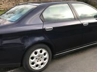 Immaculate Alfa Romeo 166 low mileage