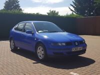 SEAT LEON 1.4 PETROL, EXCELLENT RUNNER,DRIVES GOOD!! WILL COME WITH 1 YEAR MOT!!!