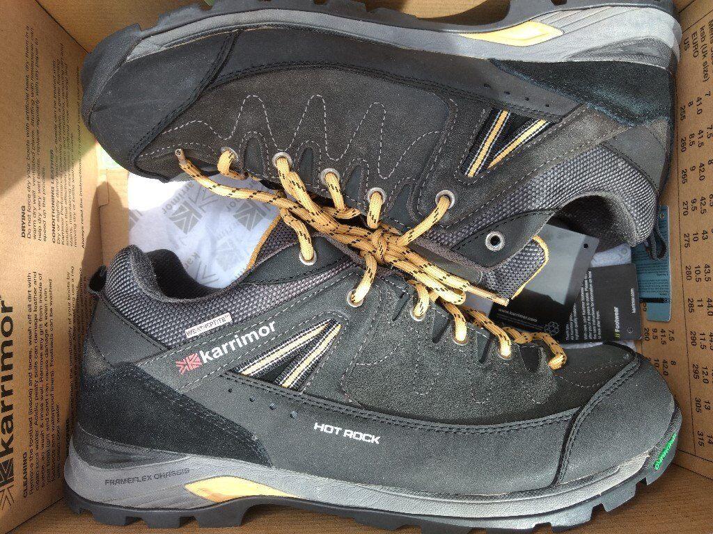c03ac5355585 Karrimor Hot Rock Low Mens Walking Shoes - Size 10.5