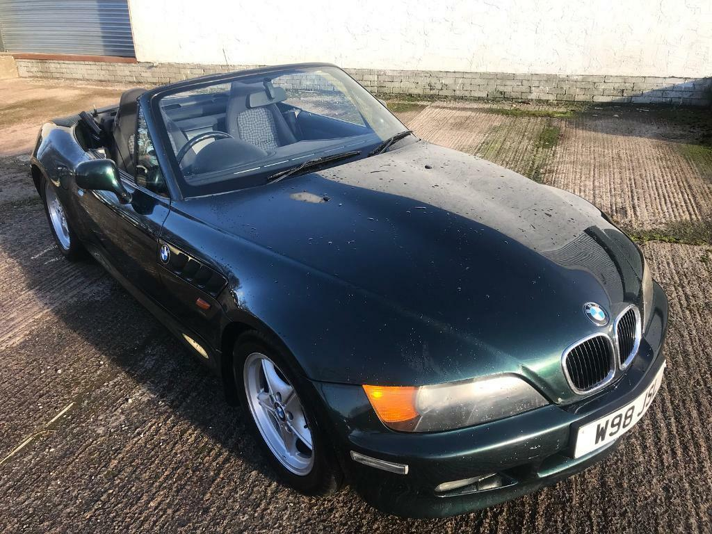 Bmw Z3 1 9 2000 Model Convertible E36 M43 Oxford Green 2 Seater Mx5 Z4 Sport 73k Widebody