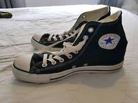 Converse Black high tops Size7 NEVER WORN!