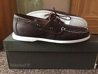 Timberland Boat Shoes - Men's Size 8 - Brown. *Brand New Boxed*