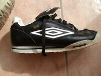 MENS LEATHER UMBRO TRAINERS
