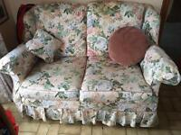 Two seater settee for humans or dogs